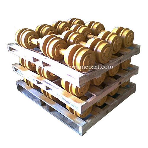 Excavator undercarriage parts carrier roller