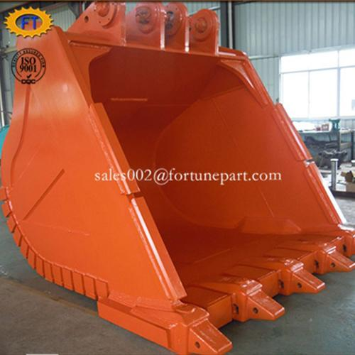 Excavator attachment rock bucket